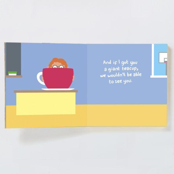 Teacher Gift Book with Socks - teacher male spread 5 19692999555 o 1