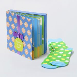 Uncle Gift Book with Socks