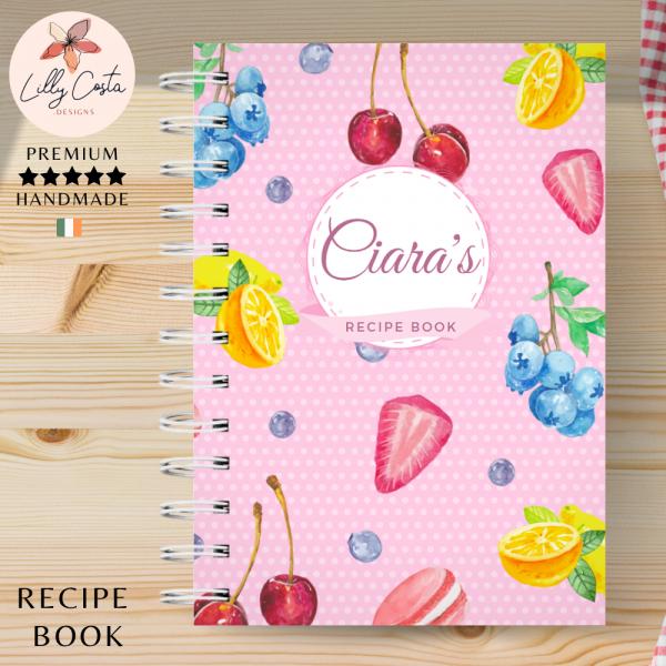 Sweet Fruits Personalised Recipe Book