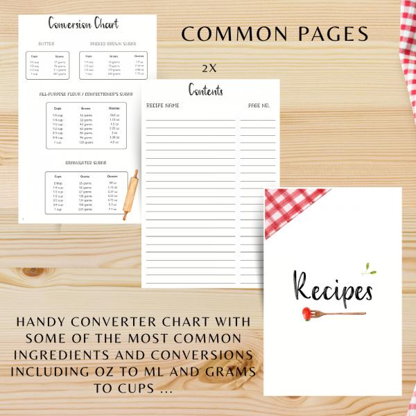 Green Veggies Personalised Recipe Book - 162