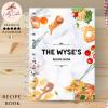 White Pasta Personalised Recipe Book