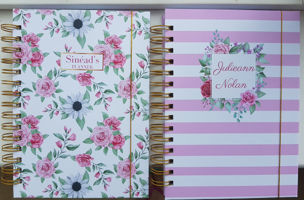 Roses and Daisies Personalised Planner Diary Journal - 20201006 193312 scaled