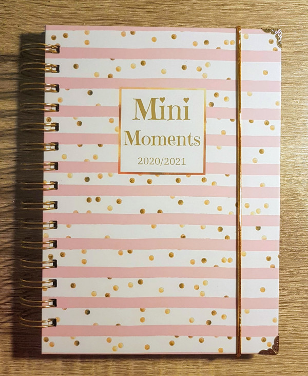 Pink Stripes Personalised Planner Diary Journal - 20210202 150554 1 scaled