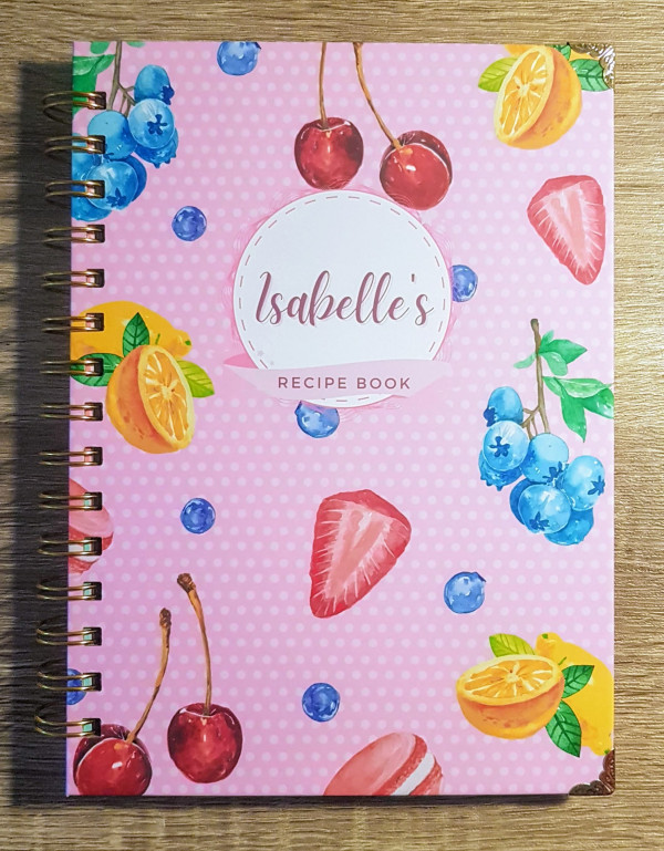 Sweet Fruits Personalised Recipe Book - 20210202 151041 2 scaled