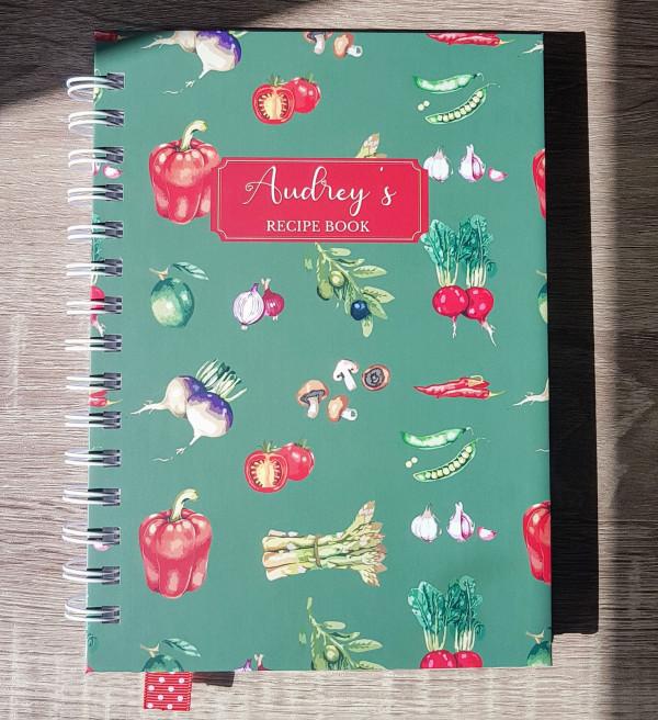 Green Veggies Personalised Recipe Book - 20210324 110842