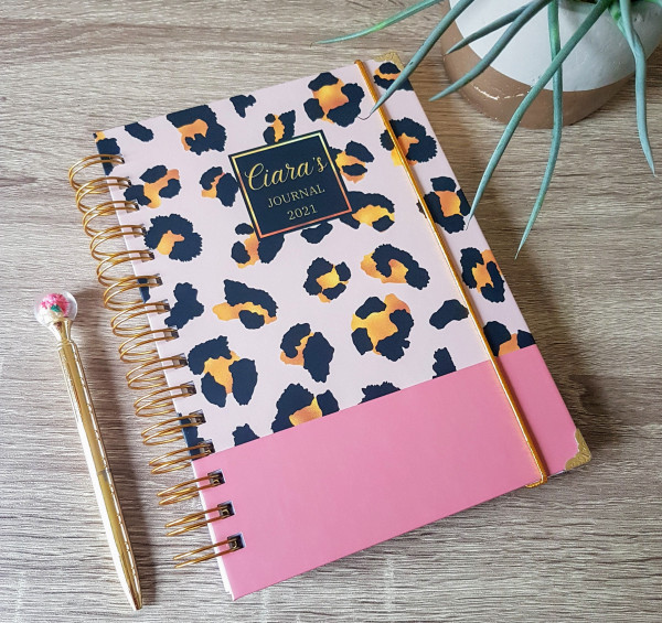 Animal Print Personalised Planner Diary Journal - 20210420 085044 scaled