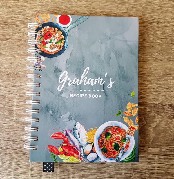 Grey Marble Personalised Recipe Book - 20210423 172501 scaled