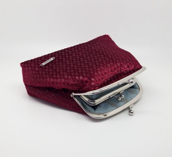 Blood Red Velvet Clutch Bag - 20210505 120312 scaled