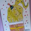 Birthdaysaurus Card