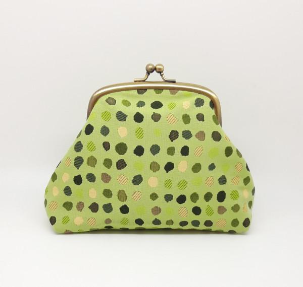 Green Polka Dot Clutch Bag - 20210528 182526