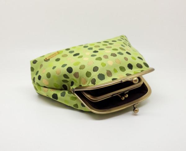 Green Polka Dot Clutch Bag - 20210528 182601