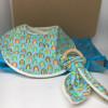 Baby Gift Set Rainbows Blue