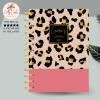 Animal Print Personalised Planner Diary Journal