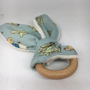 Rabbit Teething Ring