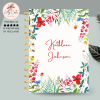 Flowers Personalised Planner Diary Journal