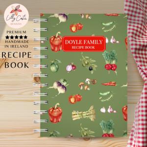 recipe book green veggies