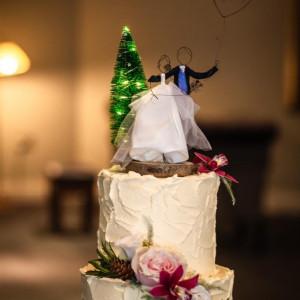 Wire Wedding Cake Topper