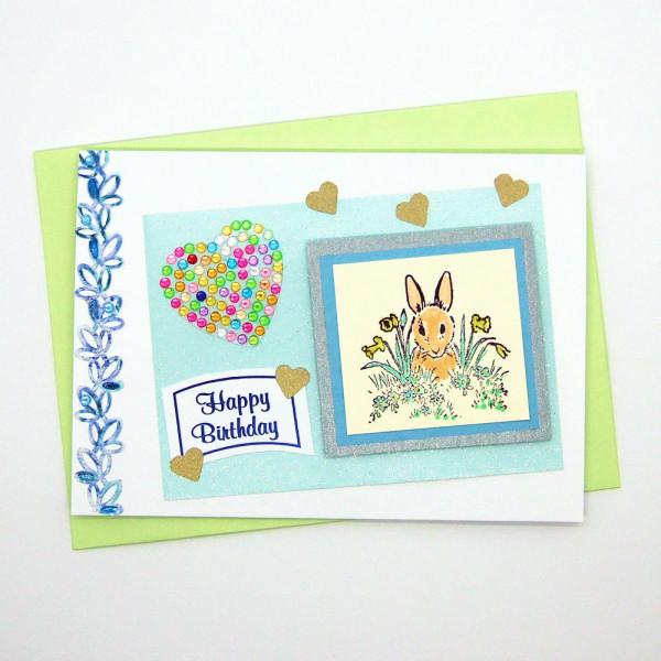 Handmade Birthday Card - 766 - 766a