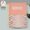 Rose Gold Personalised Planner Diary Journal - 77