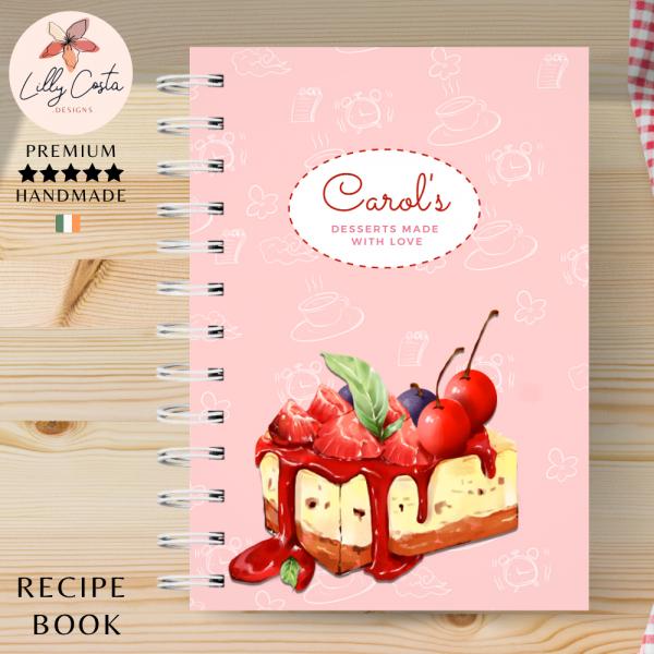 Cheesecake Personalised Recipe Book