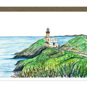 Baily Lighthouse Howth Card