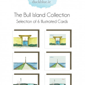 Bull Island Collection - 6 Cards