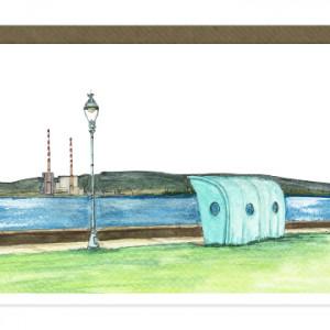 Clontarf Shelter Dublin Card