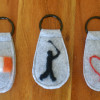 One-of-a-Kind Keyring Collection