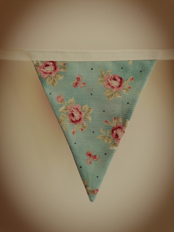 Duck Egg Vintage Style Bunting - IMG 20210512 141019 scaled