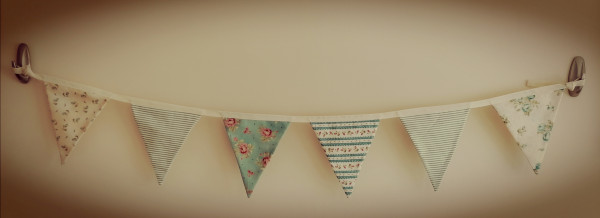 Duck Egg Vintage Style Bunting - IMG 20210512 141142 scaled