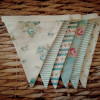 Duck Egg Vintage Style Bunting - IMG 20210512 141615 2
