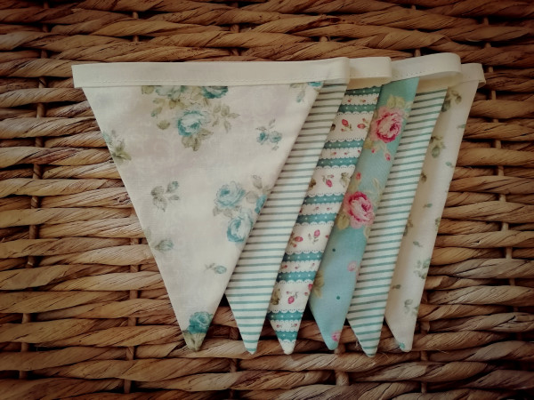 Duck Egg Vintage Style Bunting - IMG 20210512 141615 2 scaled