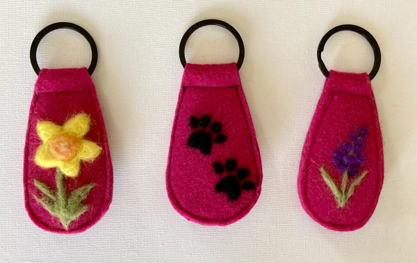 One-of-a-Kind Keyring Collection, Fuchsia - IMG 5203