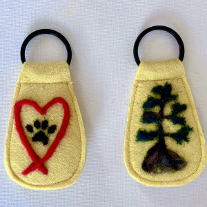 One-of-a-Kind Keyring Collection Yellow
