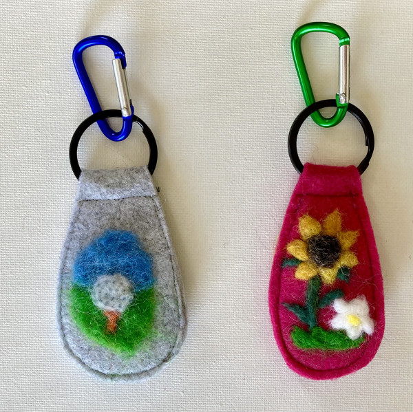 One-of-a-Kind Keyrings
