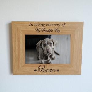 Pet Memorial Photo Frame