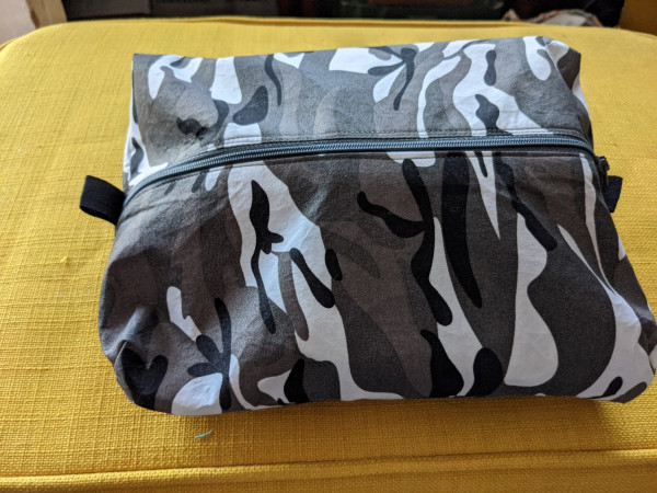 Camouflage Men's Toiletry Bag with Card - PXL 20210527 061016573 scaled