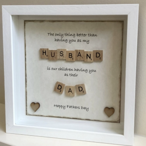 Christening Wooden Plaque With Hearts