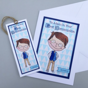 Personalised Communion Cards