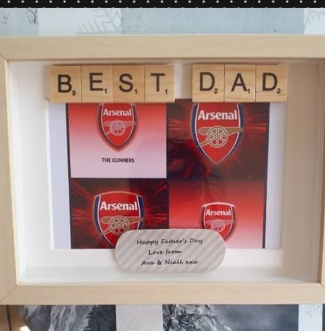 Father's Day Football Frame - Screenshot 20210527 141358 Instagram