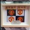 Father's Day Football Frame