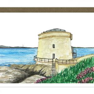 Martello Tower Sutton Card