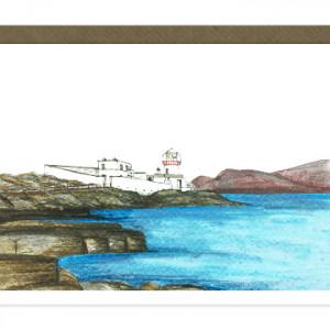 Valentia Island Lighthouse Card