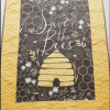Save the Bees Baby Quilt