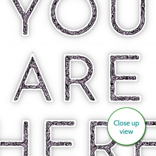 elevencorners you are here print