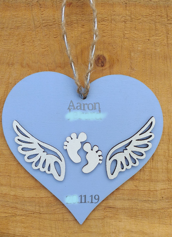 Angel Baby Heart Hanging Decoration - 20210606 135450 scaled