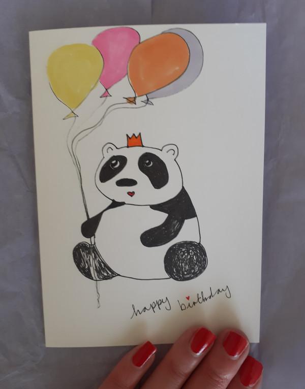 Panda Birthday Card - 20210622 111759 scaled