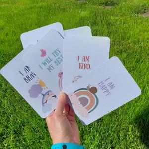 10 Rainbow Positivity Cards