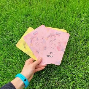 Unicorn Kids Affirmation Cards