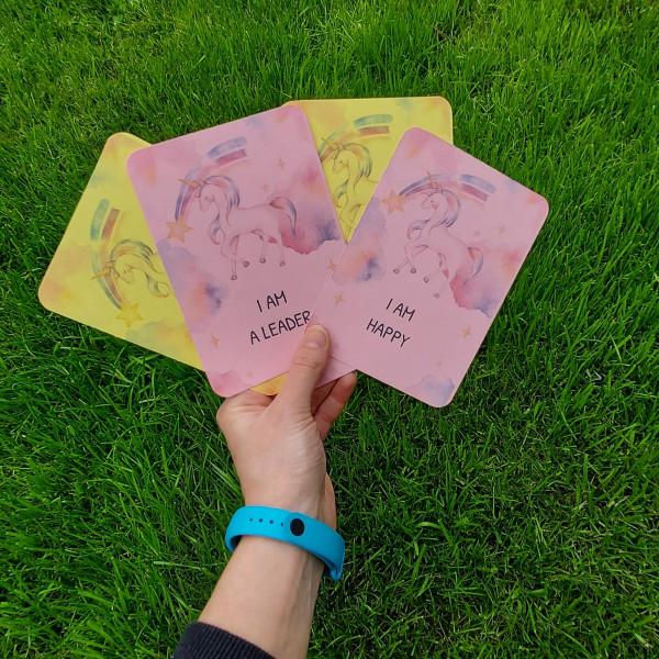 Unicorn Kids Affirmation Cards - 20210624 114958